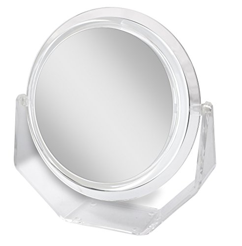 Zadro 5X Magnification Surround Lighted Vanity Mirror with Swivel Base