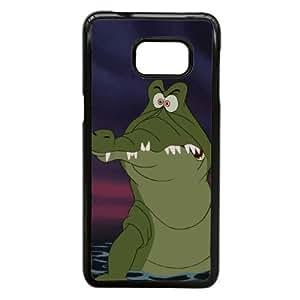 Samsung Galaxy S6 Edge Plus Phone Case Black Peter Pan The Crocodile (Tick Tock) EVR3912145