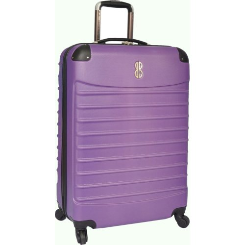 Bill Blass Luggage Voyager 30″ Hardside Spinner (Purple), Bags Central