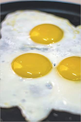 Buy Fried Eggs Sunny Side Up Journal Book Online at Low
