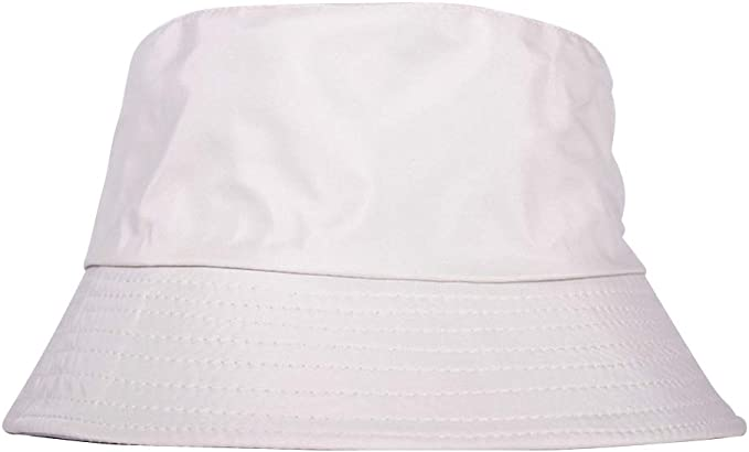 HUANSI Unisex Funky Bucket Hat Two-Sided Wearing Fishmen Outdoor Sunshade Cap