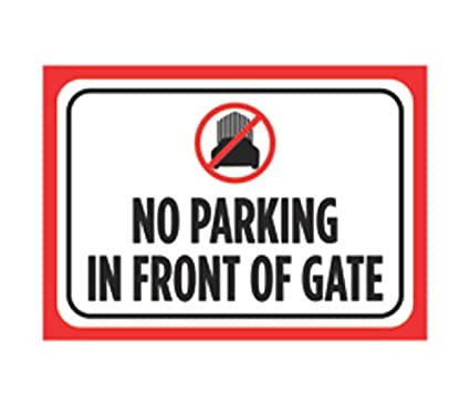 image about Printable No Parking Signs known as No Parking Within Entrance Of Gate Print Crimson Black White Poster Vehicle Imagine Logo Consideration Place of work Property Indicator