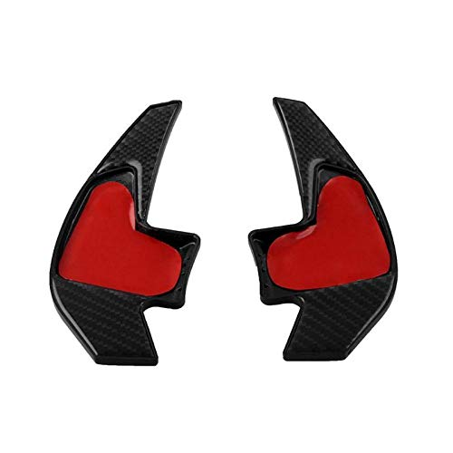 Price comparison product image SalaBox-Accessories - 1 Pair Car Steering Wheel Shift Paddles Shifter Extensions for BMW 6 Series