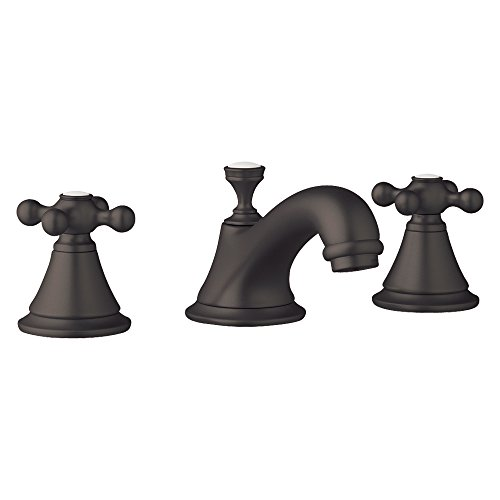 Grohe K20800-18731-ZB0-2 Seabury Lavatory Faucet Kit with Cross Handle, Oil Rubbed Bronze