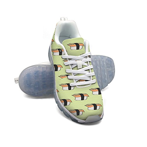 wide range of online FAAERD Cartoon Japanese Food Icon Sushi With Eel Women's Breathable Mesh Running Shoes Air Cushion Casual Walking Sports Outdoor Sneakers cheap the cheapest cheap sale tumblr clearance excellent under 70 dollars 4nRzu7IUjt