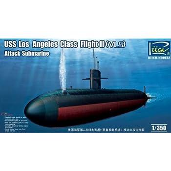 Amazon com: Riich Models USS Los Angeles Class Flight I (688) Attack