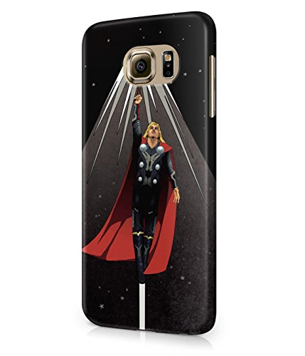 Thor God Of Thunder The Avengers Superhero Comics Plastic Snap-On Case Cover Shell For Samsung Galaxy S6