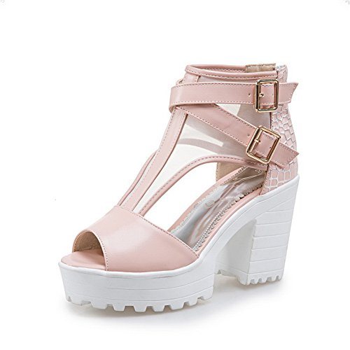 1TO9 MJS03269 Baguette Sandals Marking Platforms Urethane Womens Non Pink Style Dress qrzPrt8w