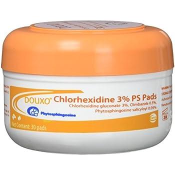 Sogeval Douxo 30 Count Chlorhexidine 3-Percent PS Pads