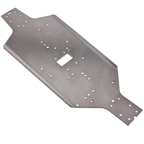 HPI 1/10 Bullet MT ST Flux 6061 3mm ALUMINUM MAIN CHASSIS plate mount post by HPI Racing