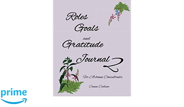 Roles, Goals, and Gratitude Journal 2 for Arbonne