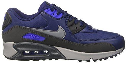 Nike Mænds Air Max 90 Afgørende, Binære Blå / Kølige Grå-antracit Binær Blå / Kølige Grå-antracit