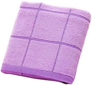 LvRao 1 pieza Muy Absorbente Grandes de Toallas de Bano Algodón de Ducha Toalla-4 Colors Púrpura 140×70cm
