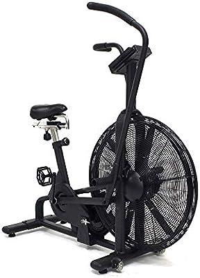 ZEESHOP Bicicleta estática Vertical Air Bike - 8 programas: Amazon ...