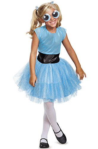 Bubbles Tutu Deluxe Costume, Blue, Small (4-6X)