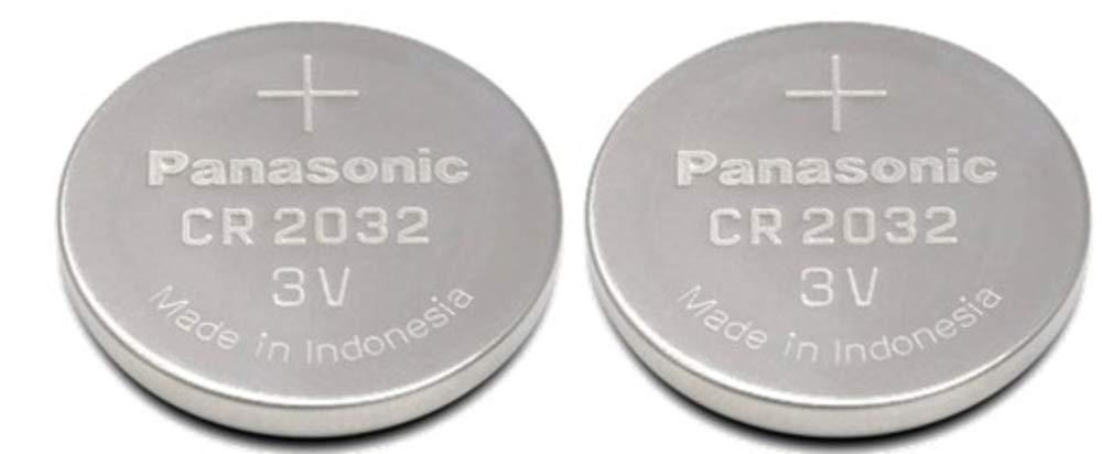 Panasonic CR 2032 - Pilas (Alcalino, 3 V, 220 mAh, 2.9 g) Pack de 2 CR2032