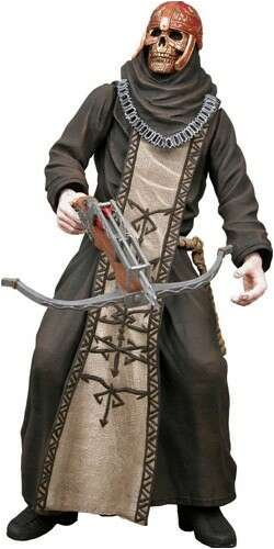 NECA Resident Evil 4 Series 2 Action Figure Black Zealot with Skull and Crossbow