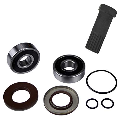 Jet Pump Bearing & Seal Rebuild Kit w/Impeller Tool (Compatible With Kawasaki, Fits 1992-1995 SX 750/1995-1996 Sxi 750/1998-2002 Sxi Pro 750/2003-2008 SXR 800 Stand-Up Skis)