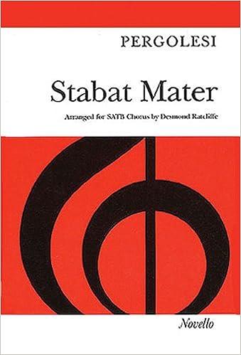 Vocal Score Stabat Mater