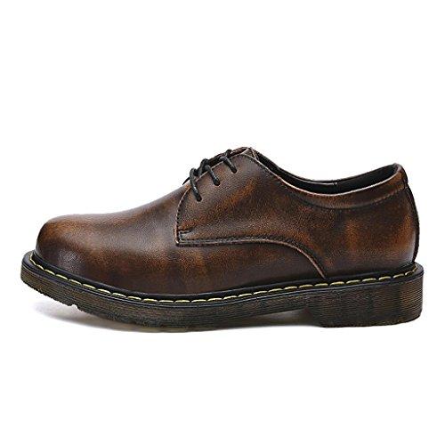 Zapatos de M de Negocios Brown de Zapatos Zapatos Cuero Zapatos Los Trabajo amp;M de Zapatos Departamento Retro de Zapatos Hombres T74qTf