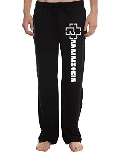 XTD Men's Rammstein band Lounge Pajama Pants (Buck Bottom River)