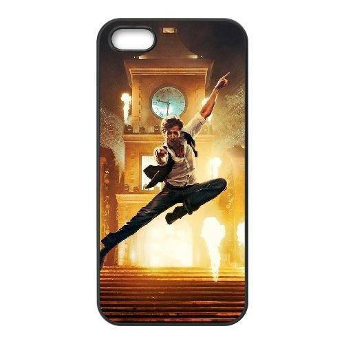 Hrithik Roshan In Bang Bang 2014 coque iPhone 5 5S cellulaire cas coque de téléphone cas téléphone cellulaire noir couvercle EOKXLLNCD24453