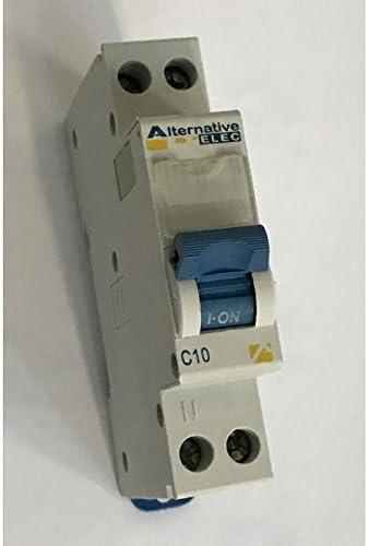 3000 A Disjoncteur A VIS PH+N 16A Pouvoir de coupure Disjoncteurs de protection contre les surintensit/és pour installations domestiques et analogues