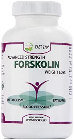100% Pure Forskolin Extract with 2X More Potency. 60-Diet & Belly Buster Supplement Pills. Weight Loss Enhancer, Metabolism Booster, Carb Blocker, Appetite Suppressant & Fat Burner for Women and Men.
