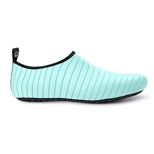 Verte Femmes Jiasuqi Aqua Schage Barefoot Yoga Pour Surf Piscine Skin D'eau Rapide Bande La Chaussures wwCqxtTa6