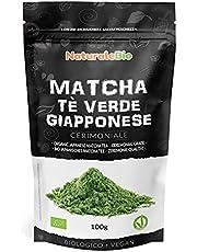 Ekologiskt grönt matcha pulverte [ CEREMONIELL KVALITET ] 100g. Japanskt grönt te av högsta kvalitet. Matcha pulver ceremoniell kvalitet A. Te producerat i Japan, i staden Uji, Kyoto.