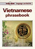 Front cover for the book Vietnamese Phrasebook by Nguyen Xuanthu