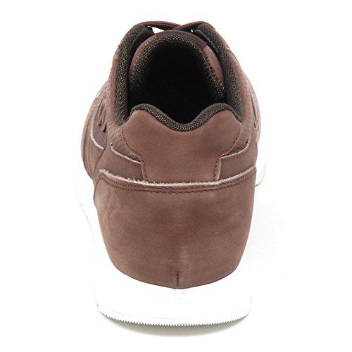 Hogan E3070 Sneaker Uomo Brown H321 Foratura Passant Scarpe Shoe Man Marrone chiaro