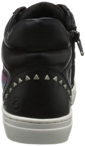 Bronx Womens Zoo Nee Fashion Sneaker Nero