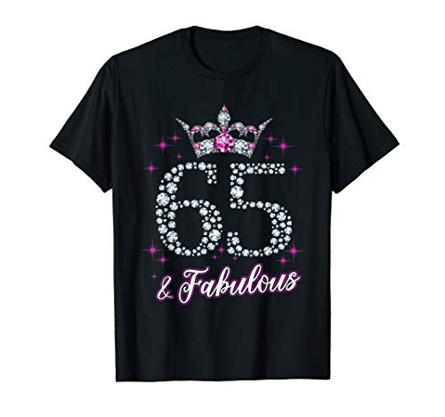 Womens 65 And Fabulous 1954 65Th Birthday Gift