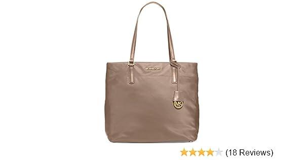 ed19328e0ad7 Michael Kors Morgan Large Nylon Tote, Color 176 Dusk: Handbags: Amazon.com