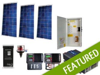 Off-grid 450w Cabin Solar Power System - Base Kit