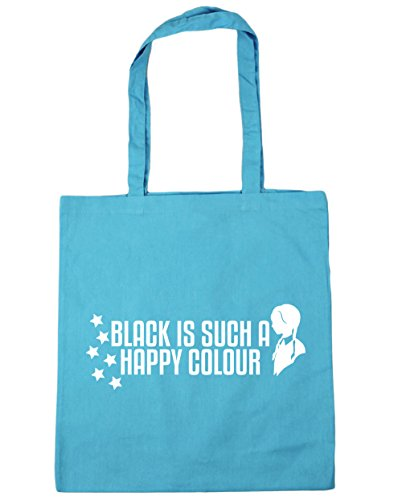 10 HippoWarehouse Shopping Bag litres 42cm Black Surf Such Blue A Happy Colour Tote Is x38cm Beach Gym 0OqnFr0w