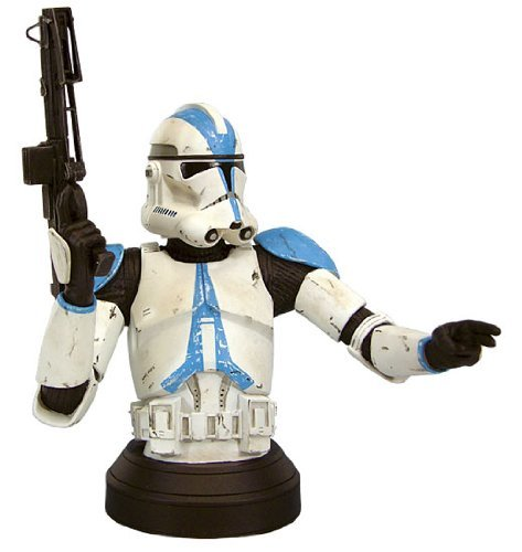 Star Wars: Episode III: Return of the Sith Clone Trooper 501st Special Ops Blue Variant Mini-Bust 1 in 3
