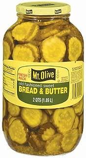 product image for Mt. Olive Bread & Butter Pickle Slices - 2 qt. jar