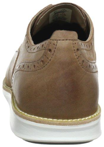 Ecco ECCO CLAYTON 670004 - Zapatos de cordones de cuero para hombre Marrón (Braun (Cognac 02053))