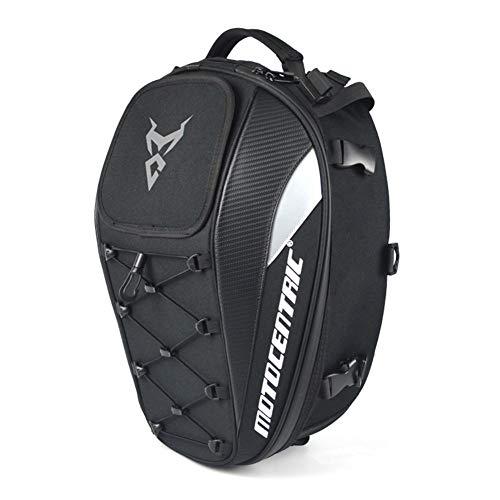 Coaste 2 in 1 Waterproof Motorcycle Tail Bag High Capacity Motorcycle Rider Backpack,Multi-Functional Durable Rear Motorcycle Seat Bag