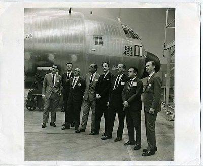 lockheed-100-hercules-photo-c-130-guest-flight-ticket-varig-airlines-officials