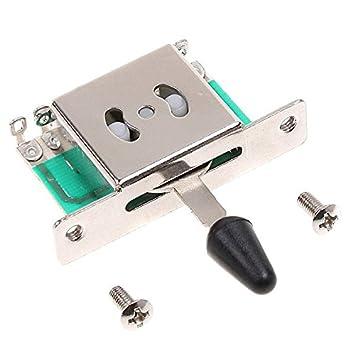 GigaMax (TM) 5 way interruptores de Selector pastilla para guitarra eléctrica: Amazon.es: Instrumentos musicales