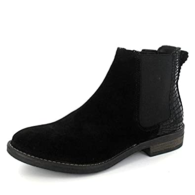 e9dd4dc51622 ONLINE SHOES Stiefelette Black, Farbe  Schwarz  Amazon.de  Schuhe ...