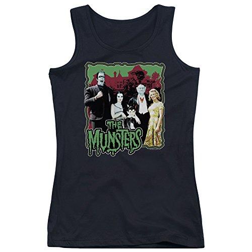 Munsters - Normal Family Junior Tank Top