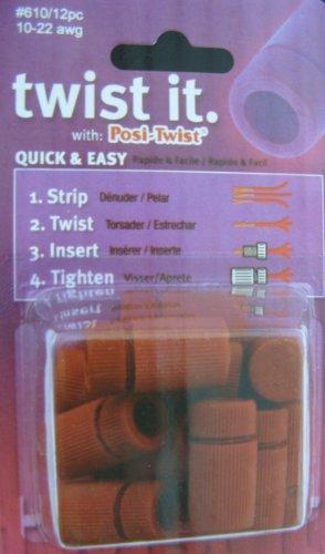 Posi-Twist Wire Connectors 10-22 gauge