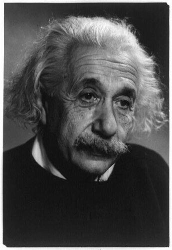 Infinite Photographs Photo: Albert Einstein,Theoretical Physicist,Developed,Theory,General Relativity,c1955