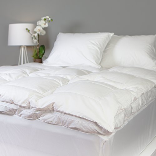 down alternative feather bed full - 9