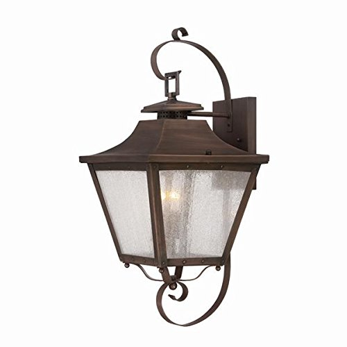 Acclaim 8712CP Lafayette Collection 2-Light Wall Mount Outdoor Light Fixture, Copper Patina Patina Outdoor Fixture