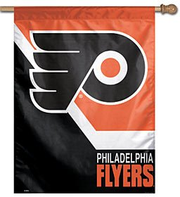 "NHL Philadelphia Flyers Vertical Flag, 27"" x 37"""
